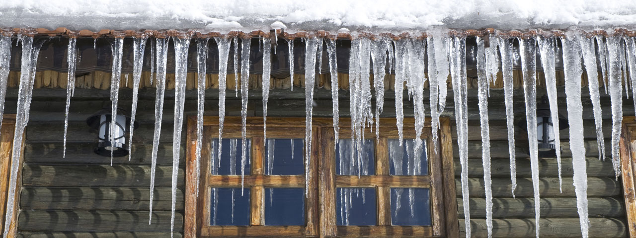 how can you prevent icicles / ice dams? with spray foam insulation