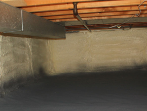 crawl space spray insulation for Kentucky
